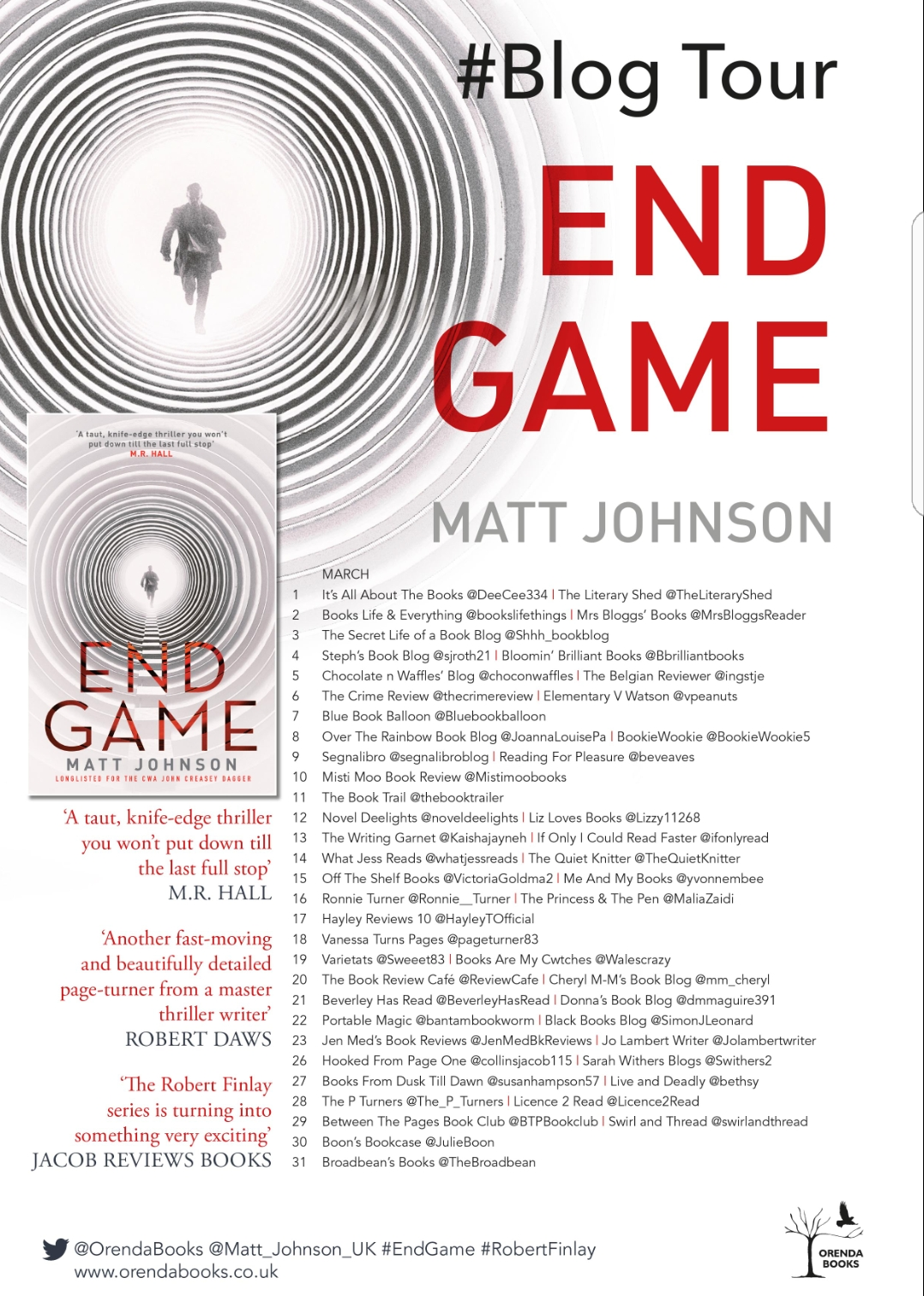 b7c31fe44c End Game (Robert Finlay) by Matt Johnson  Matt Johnson UK  OrendaBooks   MattJohnson  EndGame  BlogTour – BOOKS FROM DUSK TILL DAWN