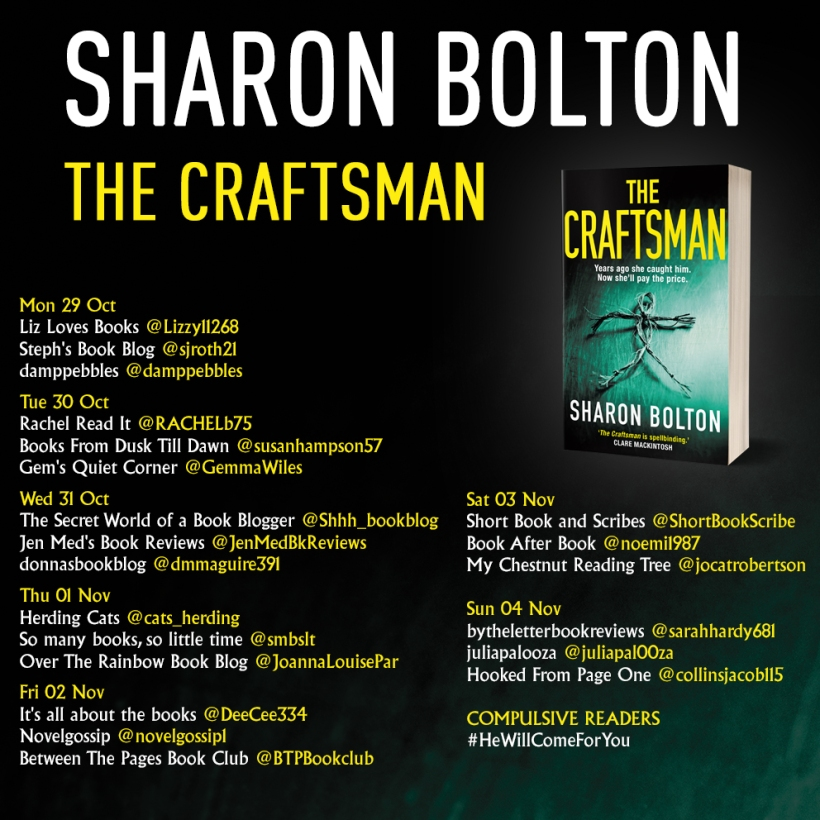 The Craftsman paperback blog tour.jpg